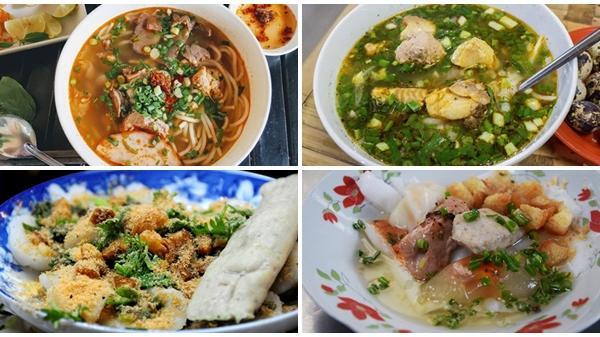 Năm quán bán món ăn Huế đông khách ở Sài Gòn