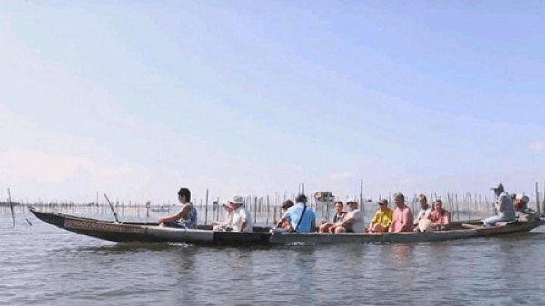 """Độc đáo tour du lịch mới """"Sáng Thủy Biều – Chiều Tam Giang"""""""