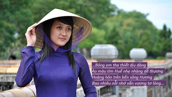 Chùm ảnh: Con gái xứ Huế đẹp đến mê hồn trong những vần thơ gieo thương nhớ