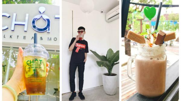 Cute phô mai que những quán trà sữa view ngắm mưa, background lên hình ảo diệu ở Huế