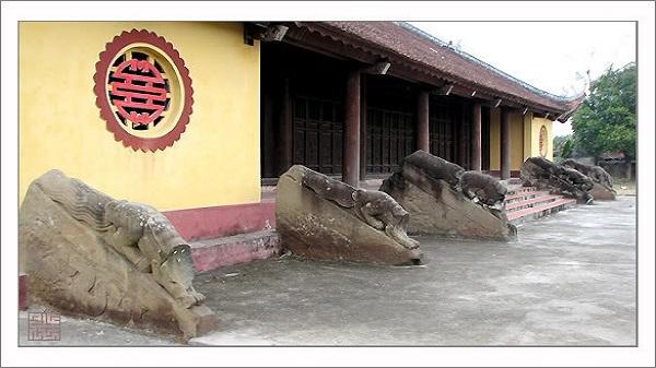 Độc đáo kiến trúc chùa Hương Lãng