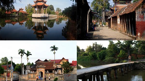 """Ít ai biết ở Hưng Yên có ngôi làng cổ hơn 200 tuổi """"đẹp như tranh vẽ"""""""