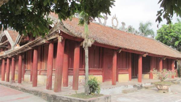 'Ngôi đình trăm cột' độc đáo nhất Hưng Yên