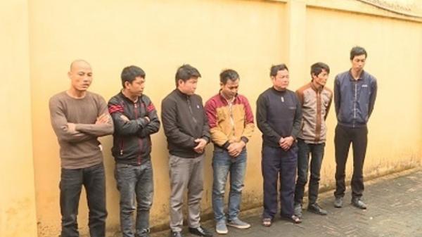 Yên Mỹ (Hưng Yên): Xóc đĩa ăn tiền, 7 đối tượng bị tạm giữ hình sự