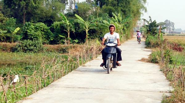 Hưng Yên: Thêm nhiều xã đạt chuẩn nông thôn mới