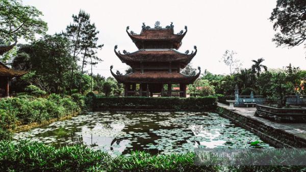 Ngôi chùa nổi tiếng với khu vườn tuyệt đẹp ở làng cổ Hưng Yên