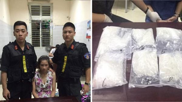 Bắt nữ quái 9X ở TP Hưng Yên vận chuyển ma túy số lượng lớn