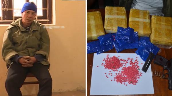 Yên Mỹ (Hưng Yên): Bắt đối tượng sản xuất ma túy, tàng trữ nhiều vũ khí trái phép