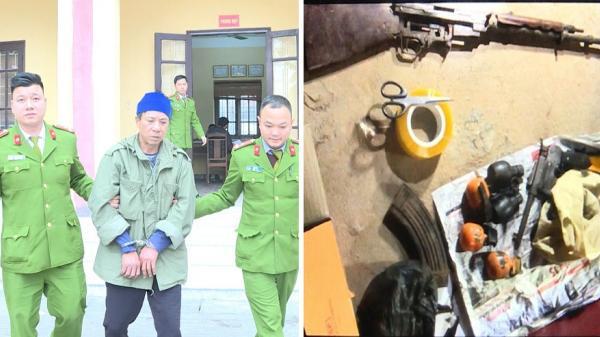 """Đột kích """"trang trại"""" sản xuất ma túy luôn sẵn súng đạn đã lên nòng ở Hưng Yên"""