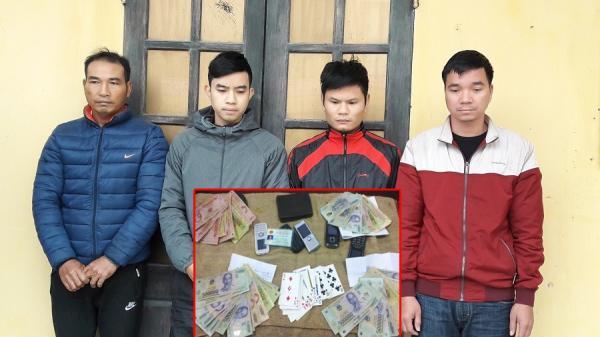 Phù Cừ (Hưng Yên): Bắt nhóm đối tượng chuyên lợi dụng các đám hiếu hỉ để đánh bạc
