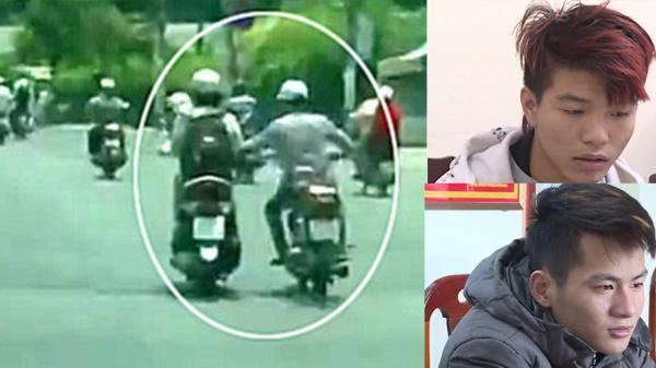 2 thanh niên 9x cướp túi xách phụ nữ tại TP Hưng Yên sa lưới