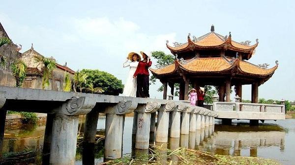 Cùng ngắm ngôi làng đẹp như cổ tích ở Hưng Yên