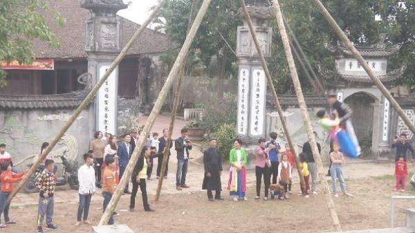 Nét đẹp hội đu đầu xuân ở Duyên Yên, Kim Động