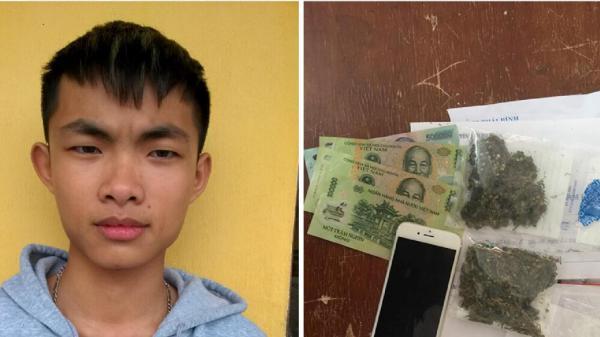 Phù Cừ (Hưng Yên): Bắt quả tang nam sinh lớp 10 bán lẻ ma túy