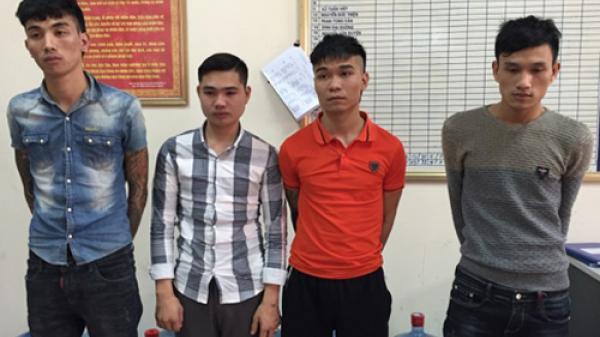 Thanh niên Hưng Yên cùng 3 đối tượng khác đạp đổ xe, chém nhiều nhát cô gái để cướp tài sản