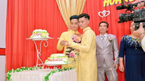 Cận cảnh đám cưới của cặp đồng tính cực điển trai đang gây xôn xao cư dân mạng
