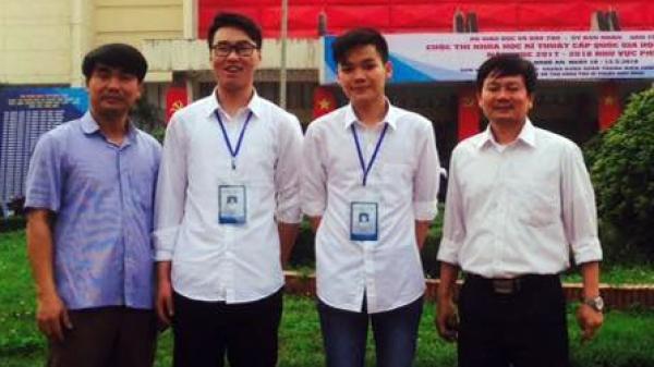 Hưng Yên giành 2 giải tại Cuộc thi khoa học, kỹ thuật cấp quốc gia học sinh trung học khu vực phía Bắc