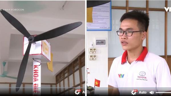 Sinh viên trường ĐH Sư phạm Kỹ thuật Hưng Yên chế tạo thành công hệ thống phát điện sạch mini