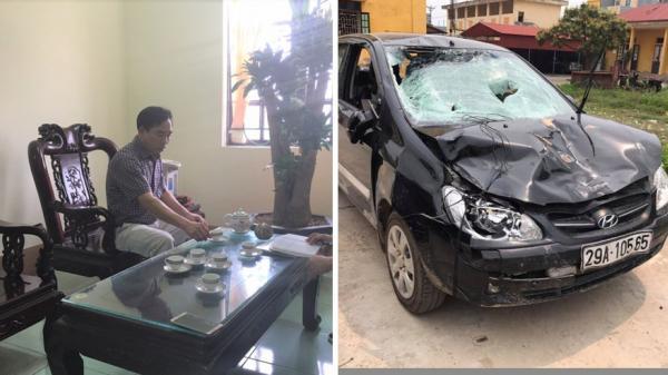 Tình tiết BẤT NGỜ về vụ xe ô tô của Chủ tịch xã đâm học sinh tử vong ở Hưng Yên