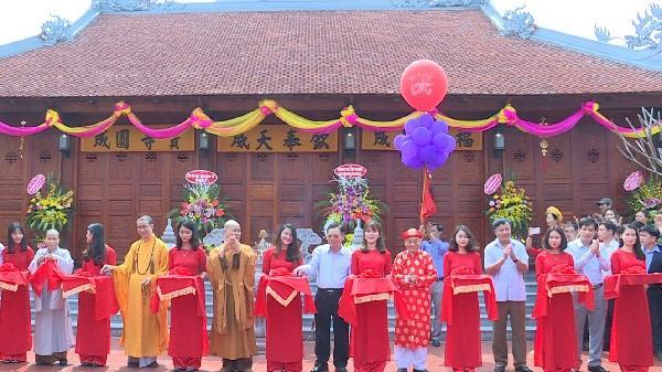 Khánh thành ngôi chùa 300 năm tuổi ở Yên Mỹ, Hưng Yên
