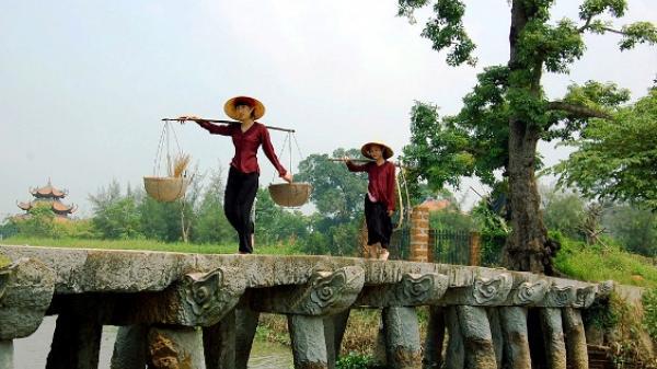 Ngắm cây cầu đá gần 200 tuổi ở quê nhãn Hưng Yên