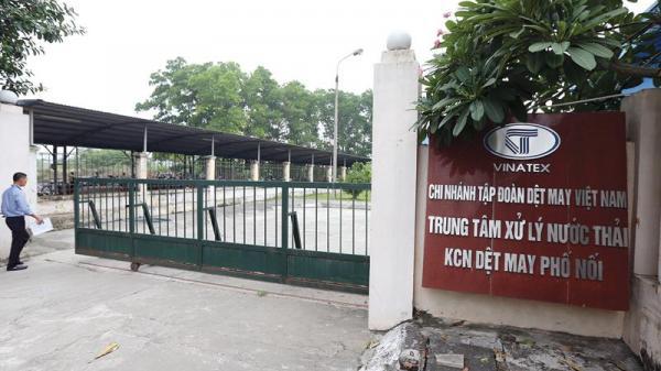 Nâng chuẩn nước thải tại Khu công nghiệp Dệt may Phố Nối B (Hưng Yên): Không còn đường lùi