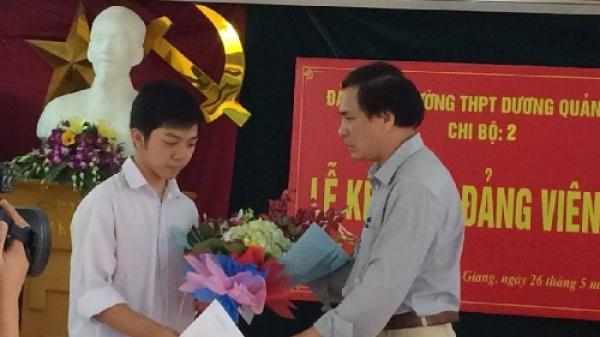 Gặp đảng viên trẻ nhất Hưng Yên đạt 29,3 điểm kỳ thi THPT Quốc gia 2017