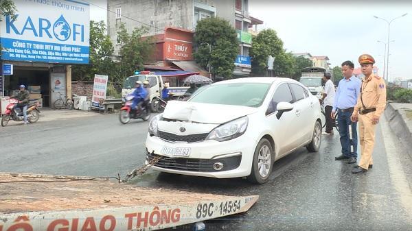 V.a chạm giao thông tại lối mở trên quốc lộ 5 ở Mỹ Hào