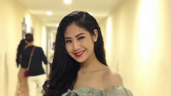 Nữ sinh Hưng Yên dành giải Miss tài năng trong cuộc thi Hoa khôi 2018