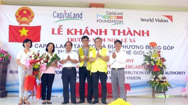 Khánh thành Trường mầm non Lệ Xá CapitaLand Hope 3,7 tỷ đồng tại Hưng Yên