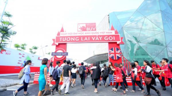 Lần đầu tiên, Cơ sở Ecopark (Hưng Yên) của Đại học Anh quốc Việt Nam mở cửa đón khách tham quan