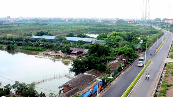 Văn Giang (Hưng Yên) có 9/10 xã đạt chuẩn nông thôn mới