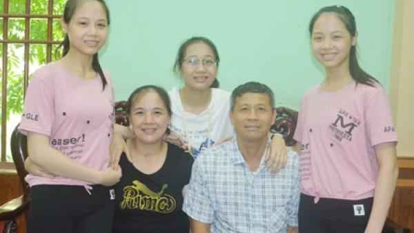 Cảm phục chị em sinh ba ở xứ Nhãn Hưng Yên cùng đỗ đại học