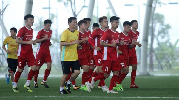 U23 Việt Nam 'luyện công' ở sân có mái che xịn nhất châu Á tại PVF Hưng Yên