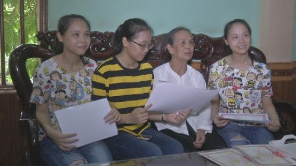 Hưng Yên: Chị em sinh ba cùng tên Linh cùng đỗ đại học
