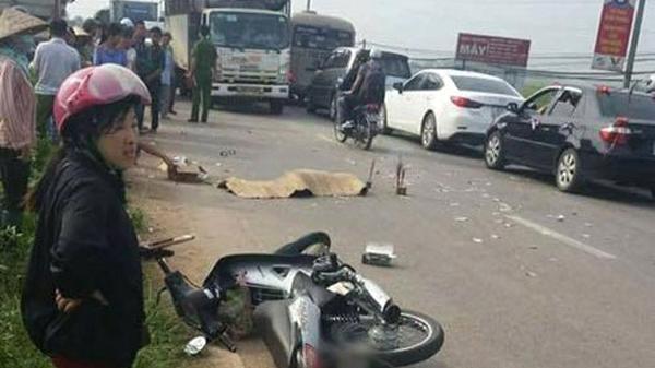 Việt Yên (Bắc Giang): Xe máy đấu đầu ô tô, nam thanh niên tử vong tại chỗ