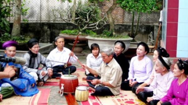 Hưng Yên: Bảo tồn những nét tinh hoa của nghệ thuật hát ca trù và hát trống quân