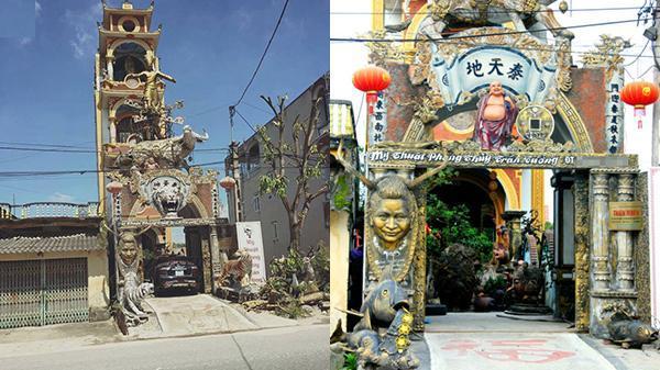 Ngôi nhà ''trên ngựa dưới trâu'': Tác phẩm nghệ thuật vô cùng tâm huyết của chàng trai Hưng Yên