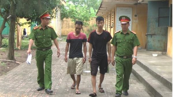 Kim Động (Hưng Yên): Bắt nóng 2 tên trộm hàng trăm triệu đồng sau 12 giờ gây án