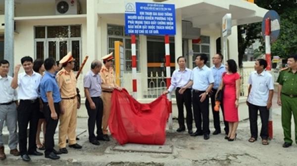 Khánh thành công trình lắp đặt đèn tín hiệu giao thông tự động tại Hưng Yên