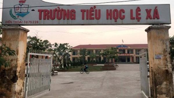 Hiệu trưởng một trường tiểu học ở Hưng Yên bị khởi tố vì thu tiền của học sinh sai quy định