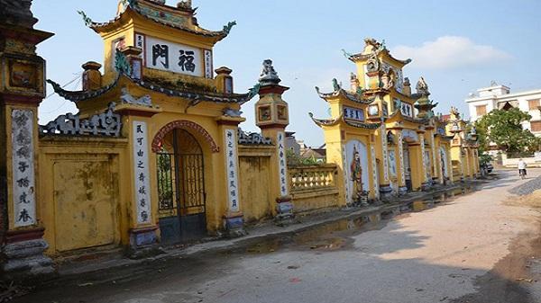 Tìm hiểu lịch sử ngôi đền Đào Xá cổ kính tại Kim Động - Hưng Yên
