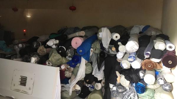 Hưng Yên: Tịch thu 7 tấn vải cuộn nhập lậu