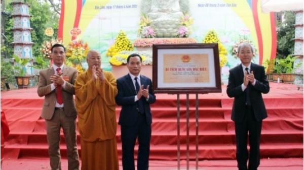Hưng Yên: Chùa Thái Lạc được xếp hạng Di tích Quốc gia đặc biệt