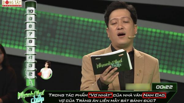 """Nhanh như chớp sai kiến thức cơ bản """"Vợ nhặt"""" thành của Nam Cao: Câu trả lời của người chơi mới """"bá đạo"""""""