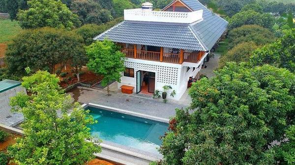 6 biệt thự view đẹp gần Hà Nội, phù hợp đoàn đông người