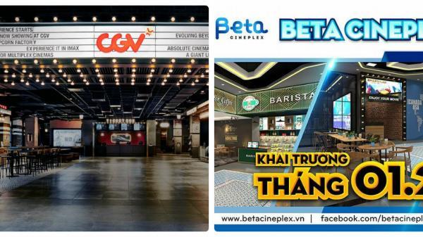 """Hot! Hot: Các """"mọt phim"""" chắc chắnsẽ thích điều này - 2 rạp phim đình đám nhất nhì Việt Nam CGV và Beta sắp có mặt ở Nha Trang"""