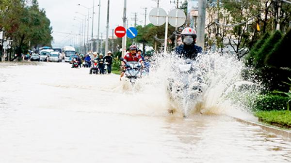 Tình trạng ngập nước trên đường 23-10: Sẽ xử lý dứt điểm