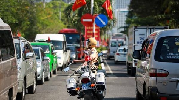 Phân luồng giao thông tạm thời phục vụ Festival Biển