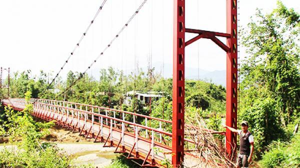 Khánh Vĩnh: Chuẩn bị sửa các cầu treo